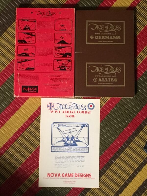 Rare vintage Ace of Aces WW1 air combat game 68032b30-bfdc-4168-a328-cb8a0f1bbe01