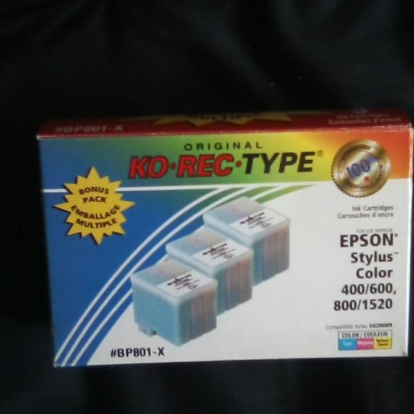 Epson Colour Printer Ink Cartridges