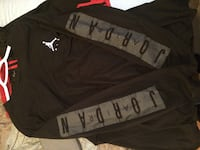 Black and gray Jordan long sleeve Quinte West, K8V