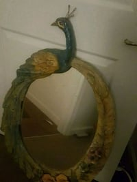 One of a kind peacock mirror Ventura, 93001