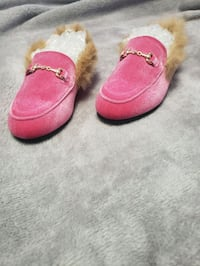 Gucci inspired girls loafers size 2.5/3