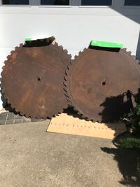 Saw blades. 1. 54 inch and 1  52 inch. 100.00 EACH call  [TL_HIDDEN]  Homer City, 15748
