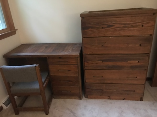 Used Child S Desk Dresser Matching Set For In Wrightstown