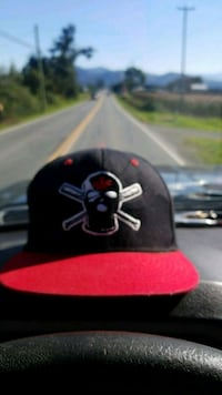 black and red Chicago Bulls fitted cap Abbotsford, V4X