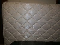 quilted white and gray floral mattress 863 mi