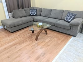 L shaped Sofa set Good for 6 people seating