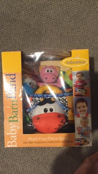 Baby Bar ban infantino. New but the plastic of the package ripped on top. Vaughan, L4J 5L7