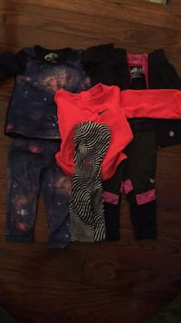 Baby Girl Exercise clothing: size 6 -12 months Oakville, L6L 0A8