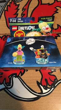 LEGO dimension  fun pack the simpsons Montreal East, H1E 3L1