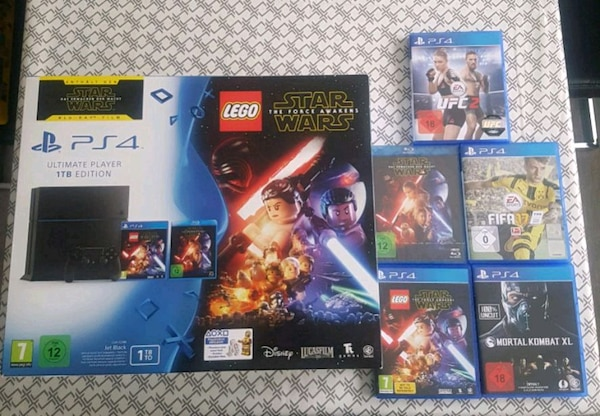 Ps4 Ultimate Player 1 TB Edition