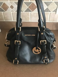 black Michael Kors leather tote bag Plainfield, 60585