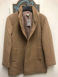 New J Crew Wool Coat - Size 4 Arlington, 22202