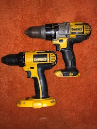 black and yellow Dewalt cordless power drill Uniontown, 15401