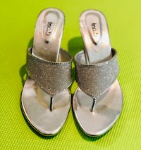 Shoes - Silver High Heels- Brand New!! Edmonton, T6R 2X8
