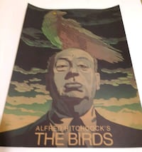 Alfred Hitchcock's The Bird poster