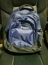 blue and black Outdoor Products backpack