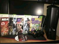 Xbox 360 bundle with games and kinect  El Paso