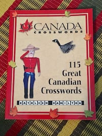 Brand new Canadian crossword puzzle book Toronto, M2M 0B1