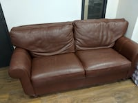 Luxury brown leather couch  Montréal, H4C 0B9