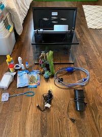 Fish Tank and filter, heater, etc etc