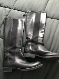 Knee boot real leather size 6