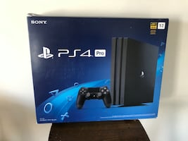 Sony PS4 Pro Console PlayStation 4 1TB Gaming Console- EXTRA CONTROLLER