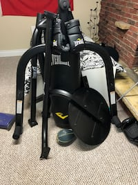 Full Boxing Bag and Speed Bag Setup Richmond Hill, L4C