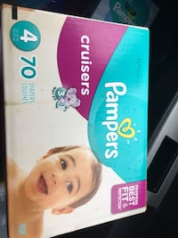 Pampers Swaddlers disposable diaper box Norfolk, 23502