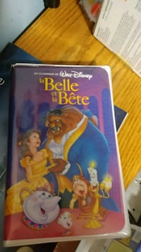 La belle erlang bete 5 for it first release of DISNEY'S tape  Millbury, 01527