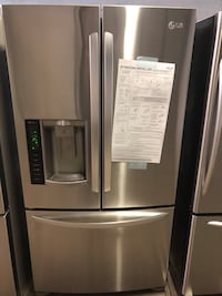 stainless steel french door refrigerator Clifton, 07012