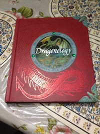 Dragonology hard cover book London, N6B