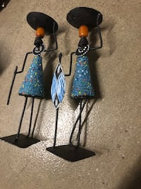 2 beaded candle holders from Kenya Arlington, 22209