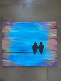 Acrylic Paint Canvas
