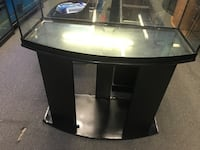 48 gallon Bowfront reptile tank and stand combo $100 Philadelphia, 19133
