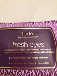 Tarte fresh eyes make up remover wipes with maracuja oil Louisville, 40291