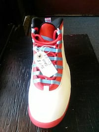 Unpaired of red and white air jordan 10 West Allis, 53219