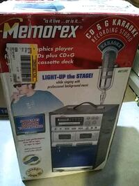 Karaoke recording studio Cd and G Memorex Light up the stage Frederick, 21702