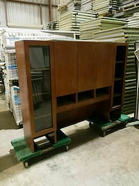 brown wooden cabinet Fresno, 93722