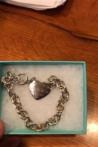 Silver Tiffany and company stamped bracelet Framingham, 01701