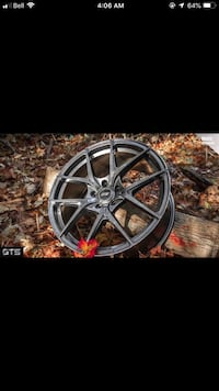 18inch GTS Rims With Tires Toronto