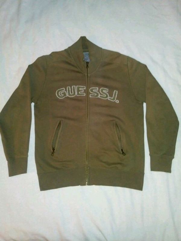 Vintage Guess Jeans zip up sweater