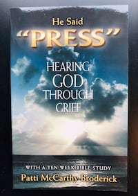 """""""He Said Press - Hearing God Through Grief"""" by Patti Broderick (Paperback) 6 km"""