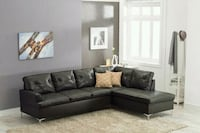 Vintage Black Sectional   Houston, 77036