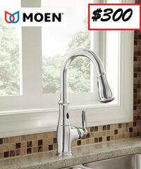 AJ - Brand New Brantford Pull Down Touchless Single Handle Kitchen Faucet with MotionSense Technology Mississauga