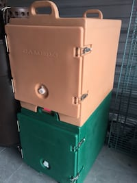 Cambro food pan carriers (2 to sell) Lake Worth, 33460
