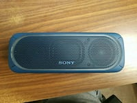 Blue Sony Bluetooth speaker Mississauga, L5A 2G1