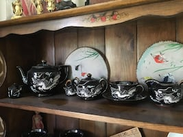 Dragon Tea set