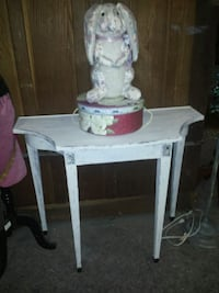 REAL WOOD COTTAGE CHIC DISTRESSED ENTRY TABLE 2213 mi