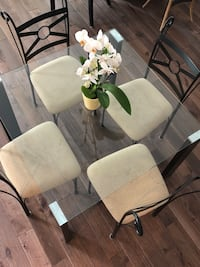 Square Glass Table & Chairs Richmond Hill, L4S 2H6
