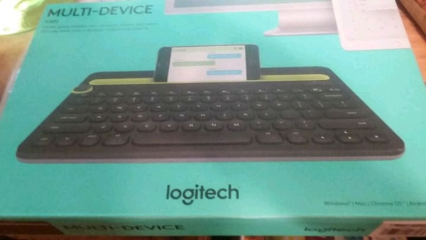 Logitech multi device keyboard brand new